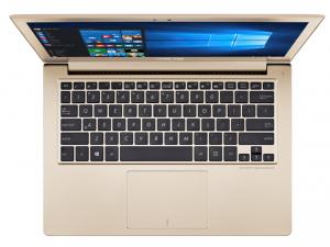 ASUS Zenbook 13,3 FHD UX303UB-R4060T - Arany - Windows® 10 64bit Intel® Core™ i5-6200U (3M Cache, up to 2.80 GHz), 8GB, 256GB SSD, Nvidia® 940M 2GB, Háttérvilágítású billentyűzet, Matt kijelző