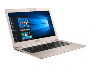 Asus UX305CA-FC210T notebook titan gold 13.3 FHD 1920x1080 LED ,Intel® Core™ M7-6Y75 Processor, 8GB,256GB SSD ,HD webcam,Wlan, BT,3CELL 45WH,1.2kg,Win 10 arany