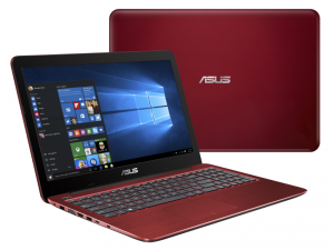 ASUS 15,6 FHD X556UB-DM157D - Piros - FreeDOS Intel® Core™ i5-6200U (3M Cache, up to 2.80 GHz), 4GB, 1TB, Nvidia® 940M 2GB, Matt kijelző