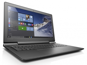 Lenovo Ideapad 15,6 FHD IPS LED 700 - 80RU00LBHV - Fekete Intel® Core™ i5-6300HQ /2,30GHz - 3,20GHz/, 4GB 2133MHz, 256GB SSD, Nvidia® GTX 950M 4GB, Wifi, Bluetooth, Webkamera, Háttérvilágítású billentyűzet, FreeDOS, Matt kijelző