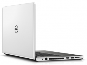 DELL Inspiron 5759 17.3 HD+ fényes, Intel® Core™ i5 Processzor-6200U (2.80 GHZ), 8GB DDR3L, 1TB HDD, AMD Radeon R5 M335 2GB DDR3, DVD, Fast Ethernet, 802.11 ac, BT, HDMI, CR, 4cell, Fehér, Linux