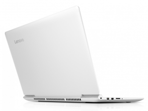 Lenovo Ideapad 15,6 FHD IPS LED 700 - 80RU00LDHV - Fehér Intel® Core™ i7-6700HQ /2,60GHz - 3,50GHz/, 4GB 2133MHz, 1TB HDD, NVIDIA® GeForce® GTX950M 4GB, WiFi, Bluetooth, Webkamera, Háttérvilágítású billentyűzet, FreeDOS, Matt kijelző