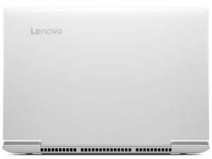 Lenovo Ideapad 15,6 FHD IPS LED 700 - 80RU009KHV - Fehér Intel® Core™ i7-6700HQ - 2,60GHz, 4GB DDR4 2133MHz, 1TB HDD, NVIDIA® GeForce® GTX950M / 4GB, WiFi, Bluetooth, HD Webkamera, FreeDOS, Matt kijelző, Háttérvilágítású billentyűzet