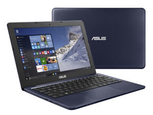 Asus E202SA-FD0013D sötétkék 11.6 (HD 1366x768, Glare), Intel® Celeron-CDC-N3050, 4GB DDR3 , 500GB (5400rpm), VGA webcam, 802.11bgn wlan, 3CELL 48WH DOS