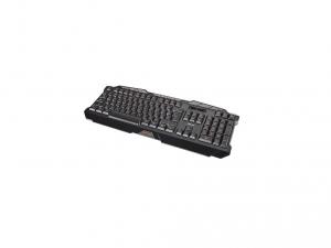 Trust GXT 280 LED USB fekete HUN világító gamer billentyűzet