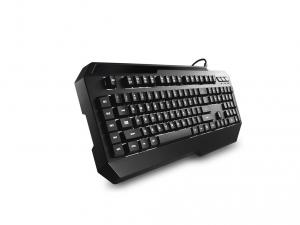 Cooler Master CM Storm Suppressor fehér LED világítással fekete HUN gamer billentyűzet