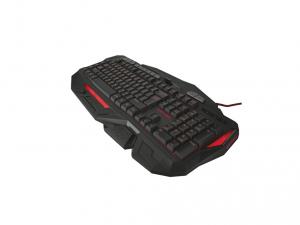 Trust GXT 285 Advanced USB fekete ENG gamer billentyűzet