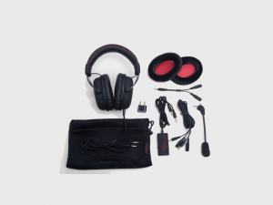 Kingston HyperX Cloud fekete 3,5 Jack gamer headset