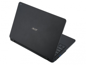 Acer TravelMate 11,6 HD TMB117-M-C95B -Fekete - Windows® 10 Home Intel® Celeron® Dual Core™ N3050/1,60GHz - 2,16GHz/, 4GB 1600MHz, 128GB SSD, Intel® HD Graphics, WiFi, Bluetooth, HD Webkamera, Windows® 10 Home, Matt kijelző