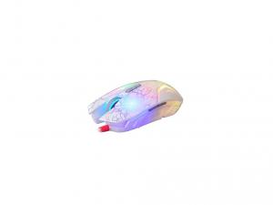 A4-Tech Bloody N50 infravörös kapcsolóval ledes fehér optikai egér