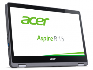 Acer Aspire R5-571T-56TF 15,6 FHD IPS touch/Intel® Core™ i5 Processzor-7200U 2,5GHz/8GB/256GB/Win10/acélszürke