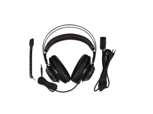 Kingston HyperX Cloud Revolver Fekete-Vörös 3,5 Jack gamer headset