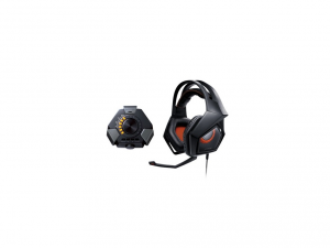 ASUS STRIX DSP Fekete USB Gamer headset