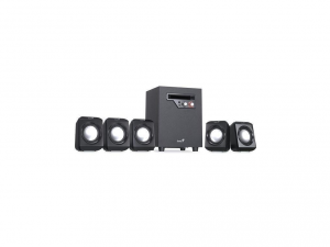 Genius SW-5.1 1020 jack 26W fekete hangszóró