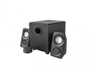 Trust Avedo 2.1 Subwoofer Speaker Set jack 14W fekete hangszóró