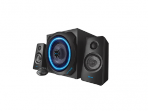Trust GXT 628 2.1 Illuminated Speaker Set Limited Edition jack 60W fa gamer hangszóró