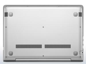 LENOVO IDEAPAD 510S-14ISK, 14,0 FHD IPS, Intel® Core™ i5 Processzor-6200U, AMD R5 M430 2GB, 4GB DDR4, 500GB HDD, NO ODD, DOS, ezüst