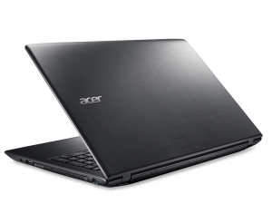 Acer Aspire 15,6 FHD E5-575G-369J - Fekete Intel® Core™ i3-6100U/2,30GHz/, 4GB 2133MHz, 96GB SSD + 1TB HDD, DVDSMDL, NVIDIA® GeForce® GTX950M / 2GB, WiFi, Bluetooth, HD Webkamera, Boot-up Linux, Fényes Kijelző