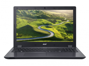 Acer Aspire 15,6 FHD E5-575G-32J2 - Fekete Intel® Core™ i3-6100U/2,30GHz/, 4GB 2133MHz, 96GB SSD + 1TB HDD, DVDSMDL, NVIDIA® GeForce® 940MX / 2GB, WiFi, Bluetooth, HD Webkamera, Boot-up Linux, Fényes Kijelző