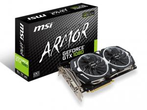 MSI PCIe NVIDIA GTX 1080 8GB GDDR5X - GeForce GTX 1080 ARMOR 8G OC