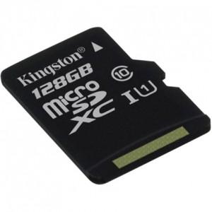 Kingston Memóriakártya Micro SDXC 128GB CLASS 10 U1
