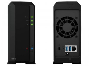 Synology DiskStation DS116 1-lemezes NAS (2×1,8 GHz CPU, 1 GB RAM)
