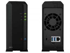 Synology DiskStation DS116 1-lemezes NAS (2×1,8 GHz CPU, 1 GB RAM)