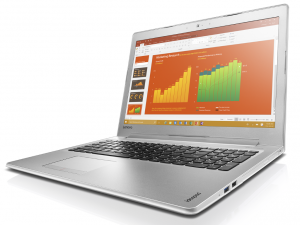 Lenovo Ideapad 15,6 FHD IPS LED 510 - 80SV009PHV - Fehér Intel® Core™ i7-7500U /2,70GHz - 3,50GHz/, 8GB 2133MHz, 1TB HDD, DVDSMDL, NVIDIA® GeForce® 940MX / 4GB, Wifi, Bluetooth, Webkamera, Háttérvilágítású billentyűzet. FreeDOS, Matt kijelző