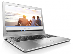 Lenovo Ideapad 15,6 FHD IPS LED 510-15IKB -80SV00L1HV - Fehér Intel® Core™ i5-7200U /2,50GHz - 3,10GHz/, 4GB 2133MHz, 1TB HDD, DVDSMDL, NVIDIA® GeForce® 940MX 4GB, Wifi, Bluetooth, Webkamera, FreeDOS, Háttérvilágítású billentyűzet,Refurbished