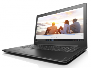 Lenovo Ideapad 15,6 HD LED 310 - 80TV00NQHV - Fekete Intel® Core™ i5-7200U/2,50GHz - 3,10GHz/, 4GB 2133MHz, 500GB HDD, DVDSMDL, Intel® HD Graphics 620, Wifi, Bluetooth, Webkamera, FreeDOS, Fényes kijelző