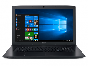 ACER ASPIRE E5-774G-52CT 17.3 FHD LED, Intel® Core™ i5 Processzor-6200U, 8GB, 1TB HDD,DVD, GEFORCE GTX 950M, FEKETE (214551)