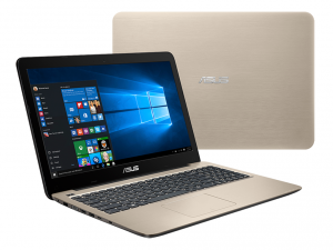 ASUS 15,6 HD X556UQ-XO187D - Arany Intel® Core™ i3-6100U /2,30GHz/, 4GB 2133MHz, 1TB HDD, DVDSMDL, Nvidia® GTX940M 2GB, Wifi, Bluetooth, Webkamera, FreeDOS, Matt kijelző