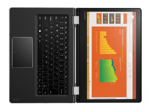 Lenovo IdeaPad Yoga 510-14ISK 80S700G3HV 35.6 cm (14) Touchscreen 2 in 1 Notebook - Intel® Core™ i3 Processzor (6th Gen) i3-6006U Dual-core (2 Core) 2 GHz - 4 GB DDR4 SDRAM - 500 GB HDD - Windows 10 Home 64-bit (English/Hungarian) - 1920 x 1080 - In-plane Switching (