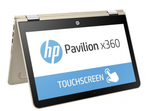 HP Pavilion x360 13-U002NH, 13.3 FHD AG Touch Intel® Core™ i5 Processzor 6200U, 8GB DDR4, 500GB+8GB NAND, Intel® HD 520, Win10, Arany (216451)