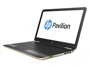 HP Pavilion 15-AU022NH, 15.6 FHD AG Intel® Core™ i5 Processzor 6200U DC, 4GB DDR4, 1TB, Nvidia GeForce 940M 4GB, Arany (216442)