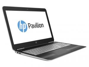 HP Pavilion 15-BC007NH, 15.6 FHD AG Intel® Core™ i7 Processzor 6700HQ QC, 4GB, 1TB, Nvidia GeForce GTX950M 2GB, Természetes ezüst (216445)