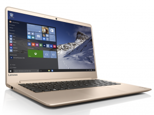 Lenovo Ideapad 13,3 FHD IPS LED 710s - 80SW00AFHV - Arany - Windows® 10 Home Intel® Core™ i3-6100U /2,30GHz/, 8GB 1866MHz, 256GB SSD PCIe, Intel® HD Graphics 520, Wifi, Bluetooth, Webkamera, Windows® 10 Home, Háttérvilágítású billentyűzet, Matt kijelző