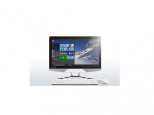LENOVO IDEACENTRE AIO 300-23ISU, 23 IPS FHD, TOUCH, Intel® Core™ i5 Processzor-6200U, 4GB, 2TB+8GB SSHD, Intel® HD, WIN10, WHITE