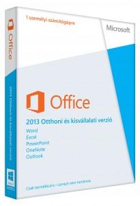 MS Office 2013 Otthoni és Kisvállalati verzió