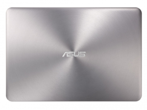 ASUS 13,3 FHD UX306UA-FC095T- Ezüst - Windows® 10 Home Intel® Core™ i5-6200U /2,30GHz - 2,80GHz/, 8GB 1866MHz, 256GB SSD, Intel® HD graphics 520, Wifi, Bluetooth, Webkamera, Windows® 10 Home, Háttérvilágítású billentyűzet, Sleeve & Cable, Matt kijelző