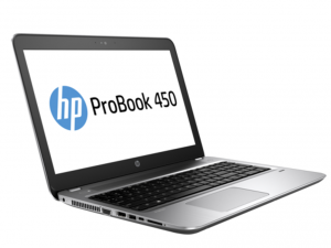 HP ProBook 450 G4, 15,6 FHD matt, Intel® Core™ i7-7500U Processzor, 8GB DDR4, 256GB M.2 SSD, Intel® HD Graphics 620, ezüst, DOS