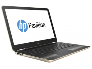 HP Pavilion 15-AU007NH, 15.6 FHD AG Intel® Core™ i3 Processzor 6100U DC, 4GB, 1TB, Nvidia GeForce 940M 2GB, Arany (216441)