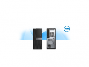 DELL PC OPTIPLEX 3040 MT, Intel® Core™ i3 Processzor-6100 (3.70GHZ), 4GB, 500GB HDD - Asztali PC