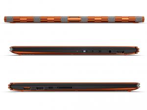 LENOVO IDEAPAD YOGA 900-13ISK2, 13.3 QHD+TOUCH, Intel® Core™ i5 Processzor-6260U, 4GB, 256GB SSD, NO ODD, W10, Sárga