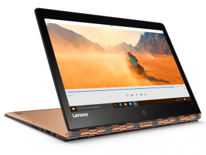 LENOVO YOGA 900 BUSINESS EDITION, 13.3 QHD+ TOUCH, Intel® Core™ i7 Processzor-6600U (3.40GHZ), 8GB, 256GB SSD, WIN10 PRO, GOLD