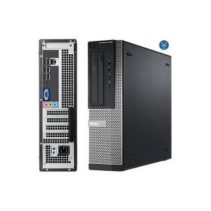 DELL PC OPTIPLEX 3040 SF, Intel® Core™ i3 Processzor-6100 (3.70GHZ), 4GB, 500GB HDD, WIN 7 PRO WIN 10 LICENSE