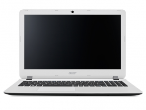 Acer Aspire 15,6 FHD ES1-572-535K - Fekete / Fehér Intel® Core™ i5-6200U /2,30GHz - 2,80GHz/, 4GB 1600MHz, 1TB HDD, DVDSMDL, Intel® HD Graphics 520, WiFi, Bluetooth, Webkamera, Boot-up Linux, Matt kijelző