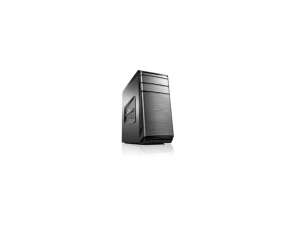 Lenovo IdeaCentre 700-25ISH 90ED0054RI Desktop Computer - Intel® Core™ i5 Processzor (6th Gen) i5-6400 2.70 GHz - Tower - Black - 8 GB DDR4 SDRAM RAM - 1 TB HHD - DVD-Writer DVD-RAM - NVIDIA GeForce GTX 750Ti - 2 GB - Asztali PC