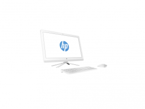 HP AIO 24-G030NN, 23.8 FHD AG Core™ i3-6100U Processzor, 4GB, 1TB, Intel® HD 520, WLESS EGÉR/BILL WHITE, 2Y+1YCP, WIN10