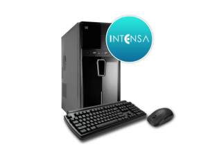 INTENSA PC - HPC-I5S-SSDV1 (i5-6400 Processzor/4GB DDR4/120GB/NO DVD/iVGA/400W/BILL+EGÉR) - Asztali PC